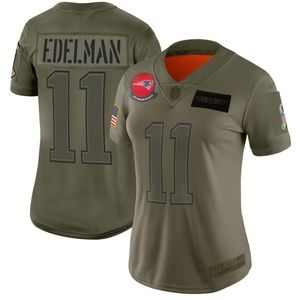Women's New England Patriots Julian Edelman Jersey